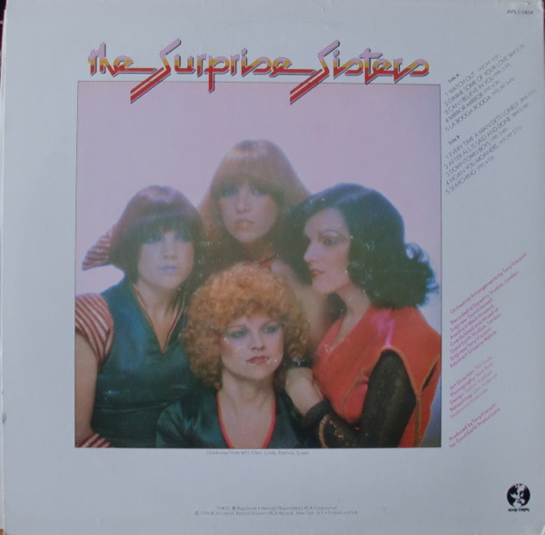 The Surprise Sisters The Surprise Sisters