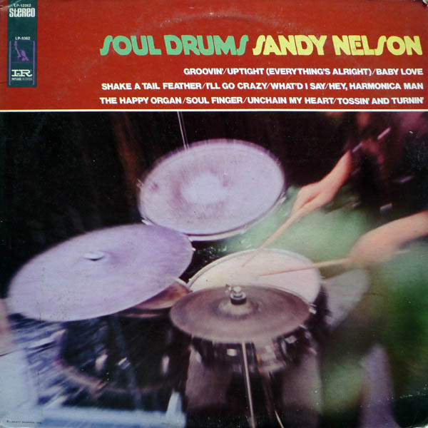 SANDY NELSON - Soul Drums - 33T