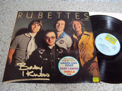 THE RUBETTES - Baby I Know - 33T