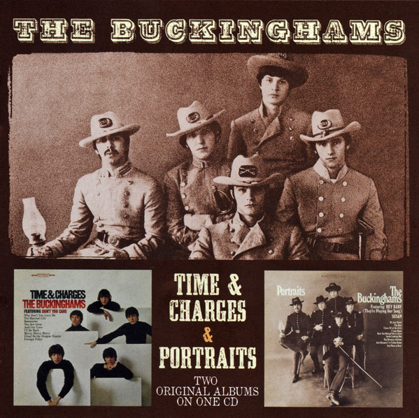 THE BUCKINGHAMS - Time & Charges / Portraits - CD